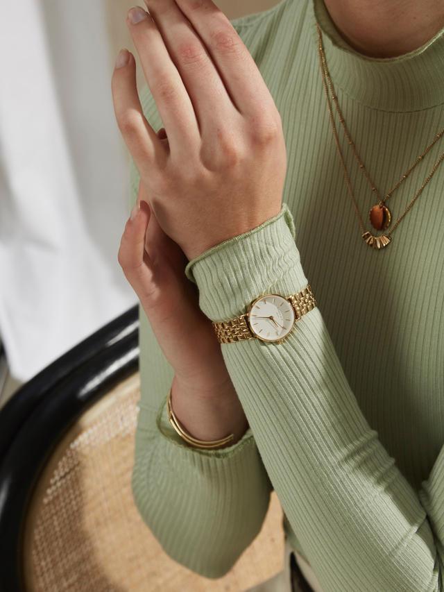 Jolie Gewinnspiel: Gold White Rosefield Uhr zu gewinnen
