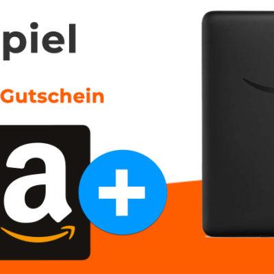 Monatsgewinnspiel: Kindle eReader und Amazon Gutschein zu gewinnen