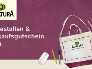 Alnatura Gewinnspiel: Alnatura Einkaufsgutschein im Wert von 250 Euro zu gewinnen
