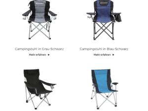 SONGMICS Gewinnspiel: 10 Camping-Stühle im Wert von ca. 400 Euro zu gewinnen