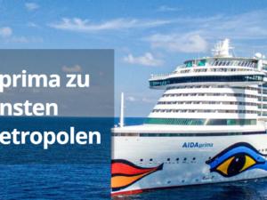 Crucero Gewinnspiel: eine Ostsee-Kreuzfahrt für 2 Personen zu gewinnen