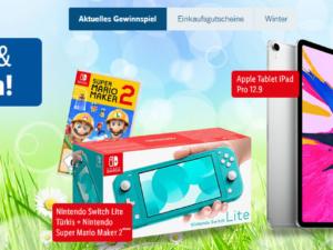 Lidl Gewinnspiel: Apple iPad, Nintendo Switch und weitere Preise zu gewinnen