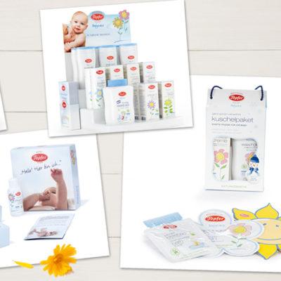 Berlin mit Kind Gewinnspiel: eines von 4 Babycare-Pflegesets von Töpfer Babywelt zu gewinnen