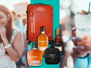 Grazia Gewinnspiel: eins von drei Paketen von Barceló Rum zu gewinnen