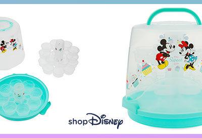 KinoNews Gewinnspiel: eine Micky & Minnie Cupcape Transportbox von shopDisney zu gewinnen