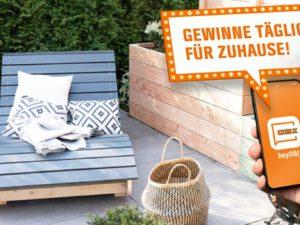 Obi Gewinnspiel: 50 Euro Gutschein und Gartengeräte zu gewinnen