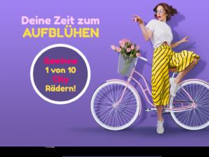 Scholl Gewinnspiel: eines von 10 City-Rädern zu gewinnen