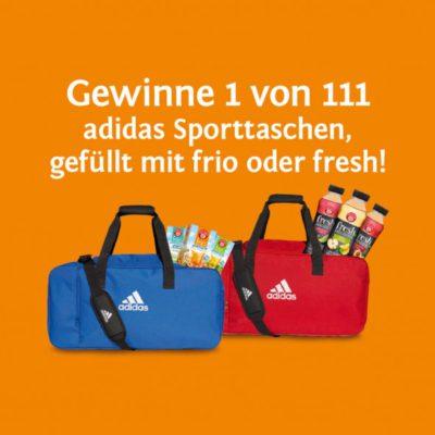 teekanne-gewinnspiel- gefüllte adidas sporttasche