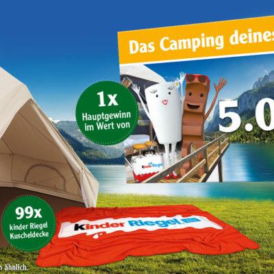 Globus Gewinnspiel: Reisegutschein und Campingausrüstung zu gewinnen