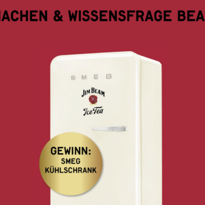 Jim Beam Gewinnspiel: 3 SMEG Kühlschränke zu gewinnen