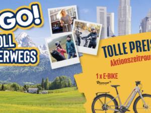 Ludwig Schokolade Gewinnspiel: 1 x E-Bike, 11 x E-Scooter, 111 x Packsack zu gewinnen