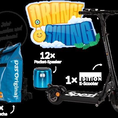 Spezi Gewinnspiel: E-Scooter im Limited Design zu gewinnen