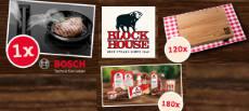 BLOCK HOUSE Gewinnspiel: Induktions-Kochfeld zu gewinnen