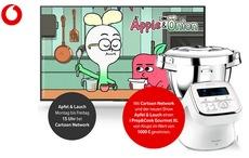 Vodafone Gewinnspiel: i Prep&Cook Gourmet XL Küchenmaschine zu gewinnen