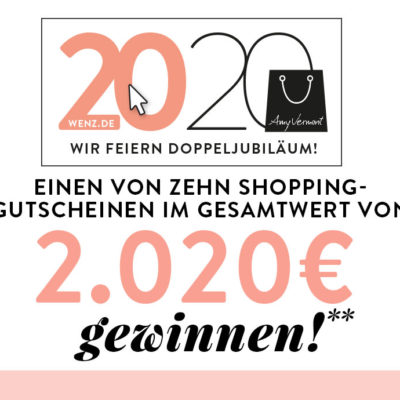 WENZ Gewinnspiel: Einkaufsgutscheine im Wert von 2.020€ zu gewinnen
