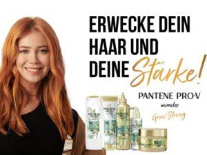 Bild der Frau Gewinnspiel: Pantene Pro-V Miracles Grow Strong zu gewinnen