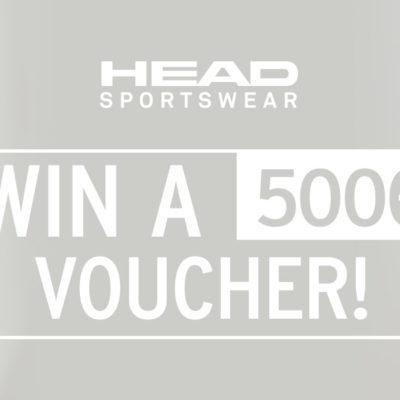 HEAD Sportswear Gewinnspiel: 500-Euro-Shopping-Gutschein zu gewinnen