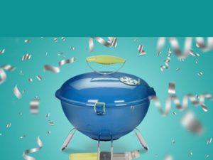 Bimi Gewinnspiel: 3 tragbare Grills zu gewinnen