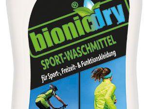 FIT FOR FUN Gewinnspiel: Bionicdry Sport-Waschmittel zu gewinnen