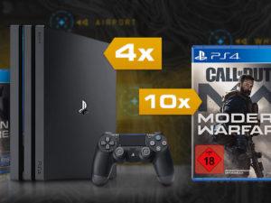 Call a Pizza Gewinnspiel: 4 x PlayStation 4 Pro Konsolen zu gewinnen