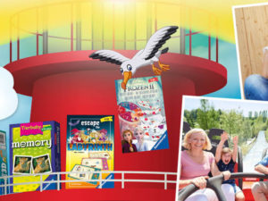 MÜLLER Gewinnspiel: Freikarten Ravensburger Spieleland zu gewinnen