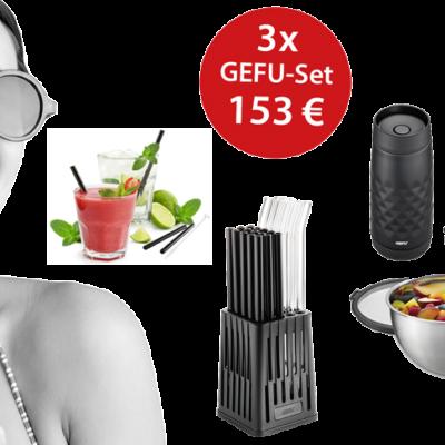 GEFU Gewinnspiel: Produktpaket zu gewinnen
