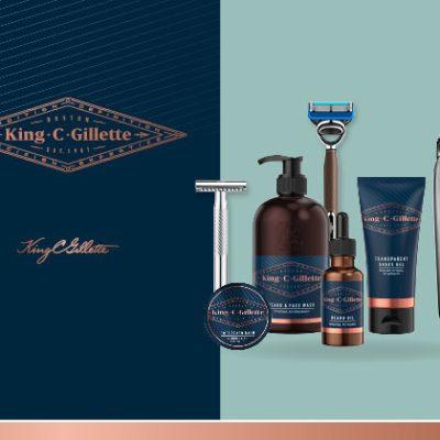 TV Movie Gewinnspiel: Bartpflege- und Rasurset von King C. Gillette zu gewinnen