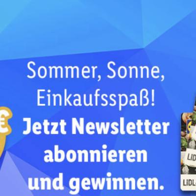 Lidl Gewinnspiel: 500 Euro Lidl-Gutschein zu gewinnen