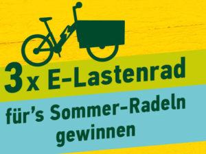 Ottakringer Brauerei Gewinnspiel: 3 E-Lastenräder zu gewinnen