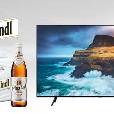 Getränke Hoffmann Gewinnspiel: Samsung 4K QLED Fernseher zu gewinnen
