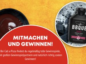 Call a Pizza Gewinnspiel: Keramik-Grill zu gewinnen