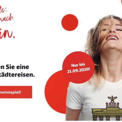 Deutsche Bahn Gewinnspiel: Bahn-Gutscheine zu gewinnen