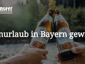 Chiemseer Gewinnspiel: Traumurlaub in Bayern zu gewinnen