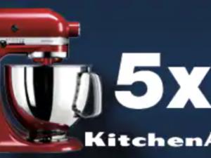 EDEKA Gewinnspiel: KitchenAid ARTISAN 4,8l zu gewinnen