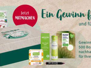 Rossmann Gewinnspiel: Bio-Produktboxen zu gewinnen