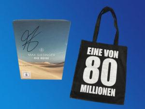 Emcur Gesundheitsmittel Gewinnspiel: Max Giesinger Fanbox zu gewinnen