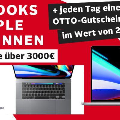 OTTO Gewinnspiel: 5x MacBook Pro 16 zu gewinnen