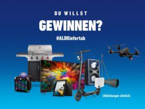ALDI Nord Gewinnspiel: Ultra HD TV, E-Scooter, Gasgrill und mehr zu gewinnen