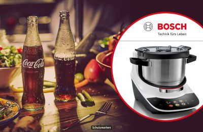 REWE Gewinnspiel: Bosch CookIt Küchenmaschine zu gewinnen
