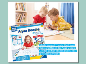 Combi Gewinnspiel: Ravensburger Aqua Doodle Set zu gewinnen