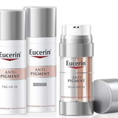 BUNTE Gewinnspiel: Eucerin Anti-Pigment zu gewinnen