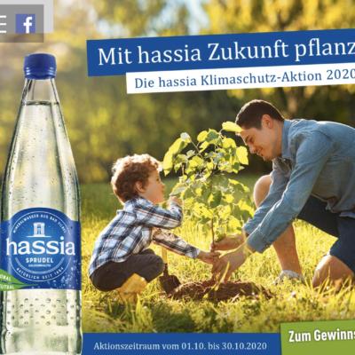 Hassia Gewinnspiel: 1 von 500 Bäumen zu gewinnen
