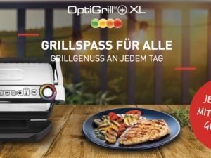 Tefal Gewinnspiel: Optrigrill + XL zu gewinnen