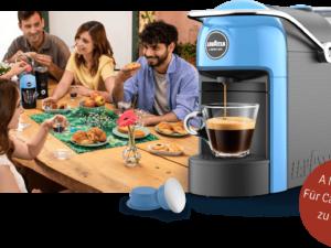 Lavazza Gewinnspiel: A Modo Mio Jolie Kaffeemaschine zu gewinnen