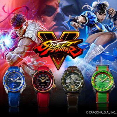 UNICUM Gewinnspiel: Seiko Street Fighter Motiv-Armbanduhr zu gewinnen