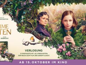 "buchSZENE Gewinnspiel: Fanpaket ""Der geheime Garten"" zu gewinnen"