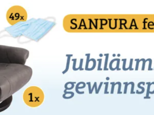Sanpura Gewinnspiel: Relax-Massagesessel zu gewinnen
