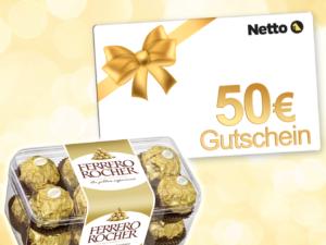Ferrero Gewinnspiel: 50 Euro Netto-Einkaufsgutschein zu gewinnen