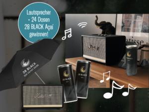 28 BLACK Gewinnspiel: Produktpaket zu gewinnen