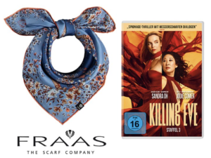 """AJOURE Germany Gewinnspiel: """"Killing Eve – Staffel 3"""" zu gewinnen"""